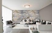 Tapete Modern Elegant Wohnzimmer