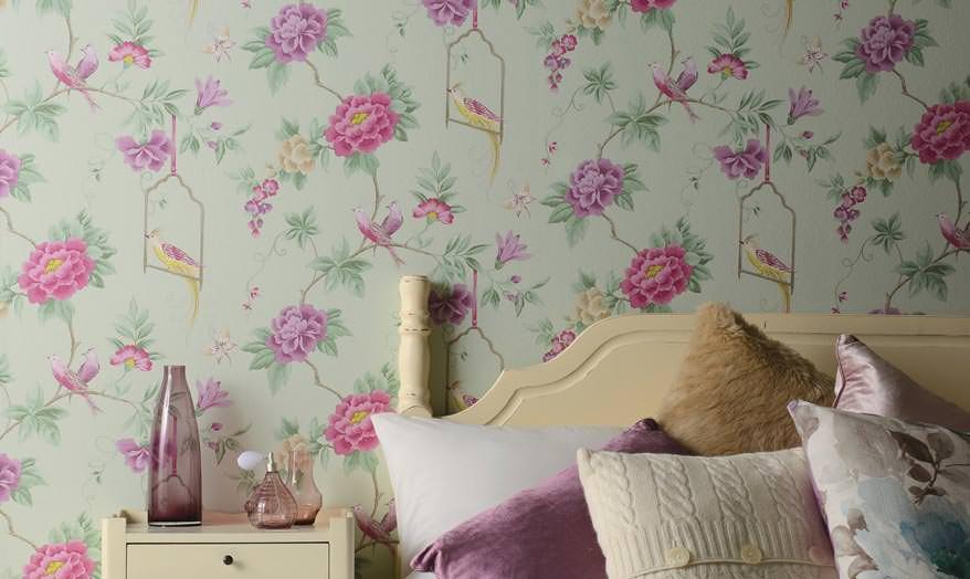 Tapete Schlafzimmer Romantisch Schön On Mit Traumhafte Tapeten Design Persönlichkeit 8
