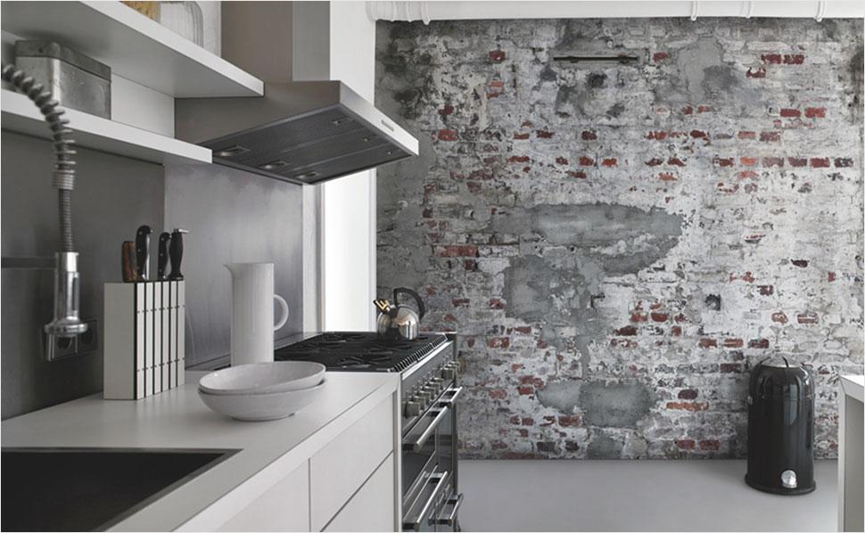 Tapeten Fuer Kueche Bemerkenswert On Andere Für Küche Und Esszimmer Bei HORNBACH 1