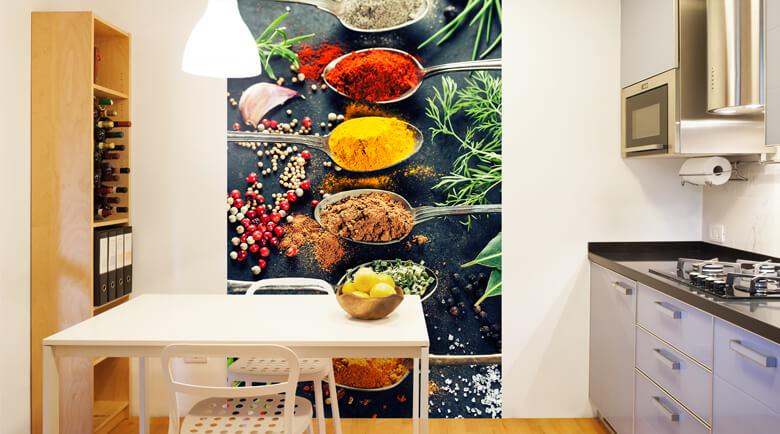 Tapeten Fuer Kueche Bescheiden On Andere Innerhalb Küchen Fototapeten Für Die Küche Wall Art De 3