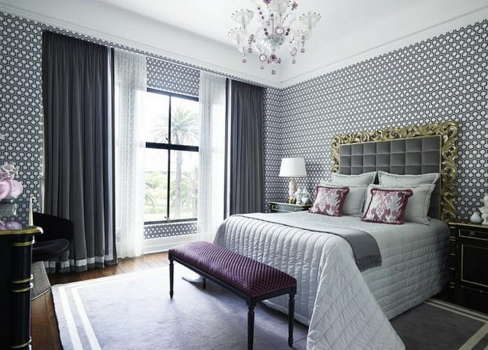 Tapeten Ideen Schlafzimmer Bemerkenswert On Beabsichtigt Herrlich 4 1