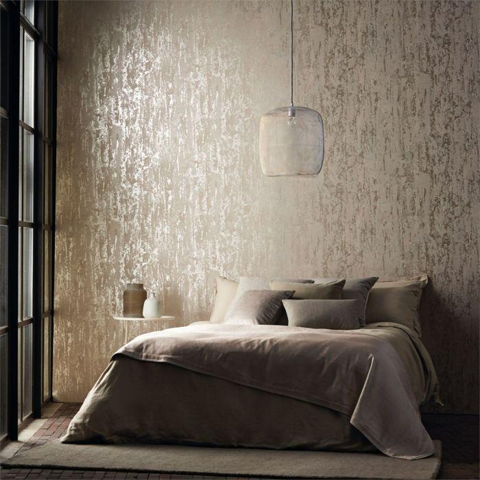 Tapeten Ideen Schlafzimmer Zeitgenössisch On Innerhalb Zakshare 3