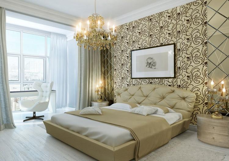 Tapeten Schlafzimmer Interessant On Auf Im 26 Wohnideen Für Akzentwand 4
