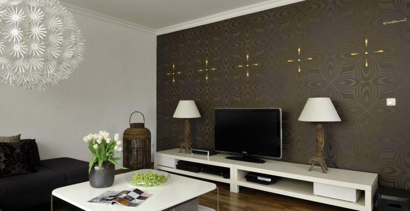 Tapezieren Wohnzimmer Imposing On Für Modern Übernehmen 7