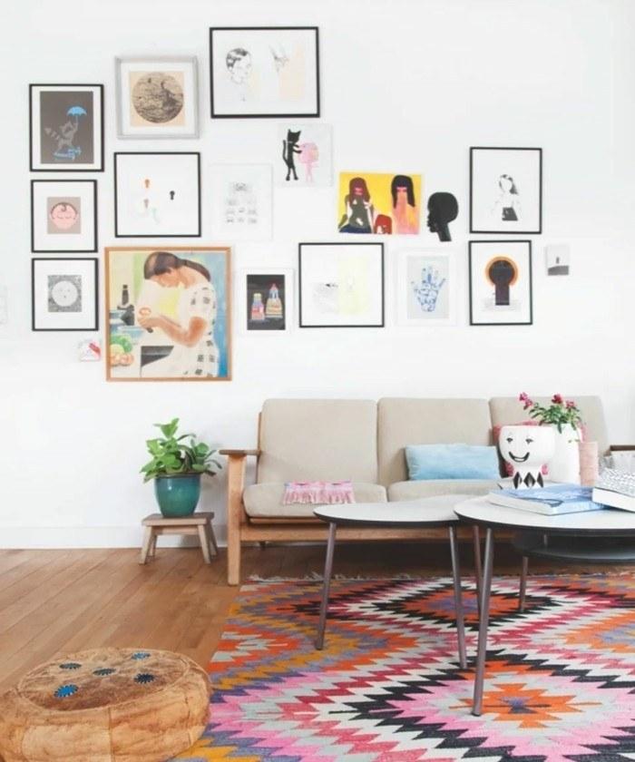 Teppich Ideen Nett On Innerhalb Vintage Mit Schönen Textilien Und Mustern Für In 4