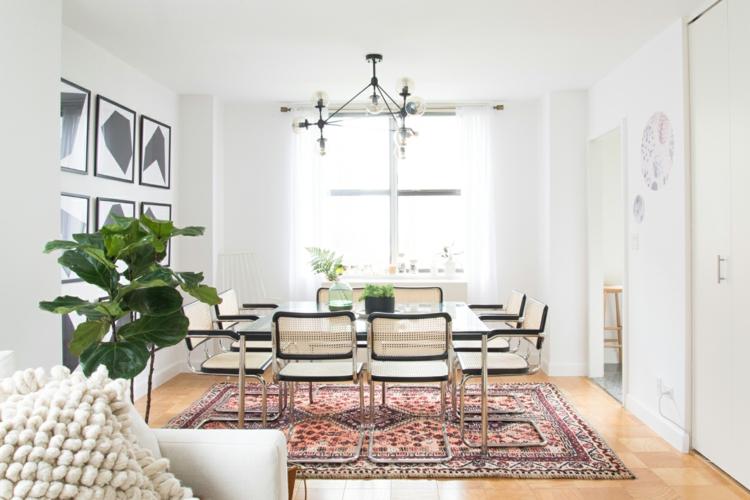 Teppich Ideen Perfekt On überall 50 Esszimmer Welche Form Farbe Wählen 1