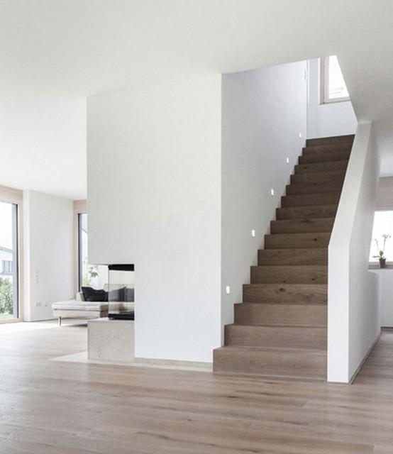 Treppenhaus Einfamilienhaus