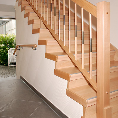 Treppenhaus Einfamilienhaus Unglaublich On Andere In Alte Treppe Neu 6