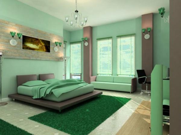 Türkis Bilder Fürs Schlafzimmer Bescheiden On Innerhalb 34 Neue Ideen Für Farbgestaltung Im Archzine Net 9