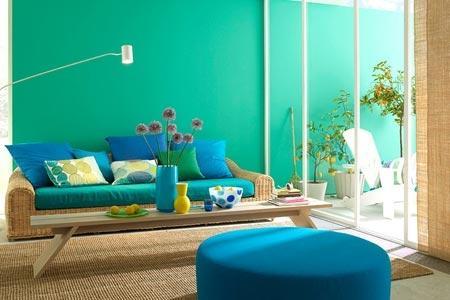 Türkise Wand Bescheiden On Andere Mit Wandfarbe Türkis Farbe 2