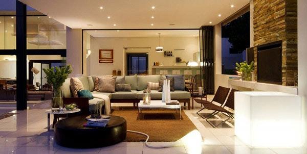 Villa Wohnzimmer Modern Bescheiden On Beabsichtigt Nett Für Dekoration Frisch 8