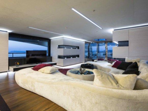 Villa Wohnzimmer Modern Exquisit On Für Beste Auf Zusammen Mit Oder In 9