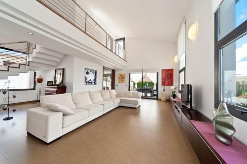 Villa Wohnzimmer Modern On überall The Outskirts Of Inca 7