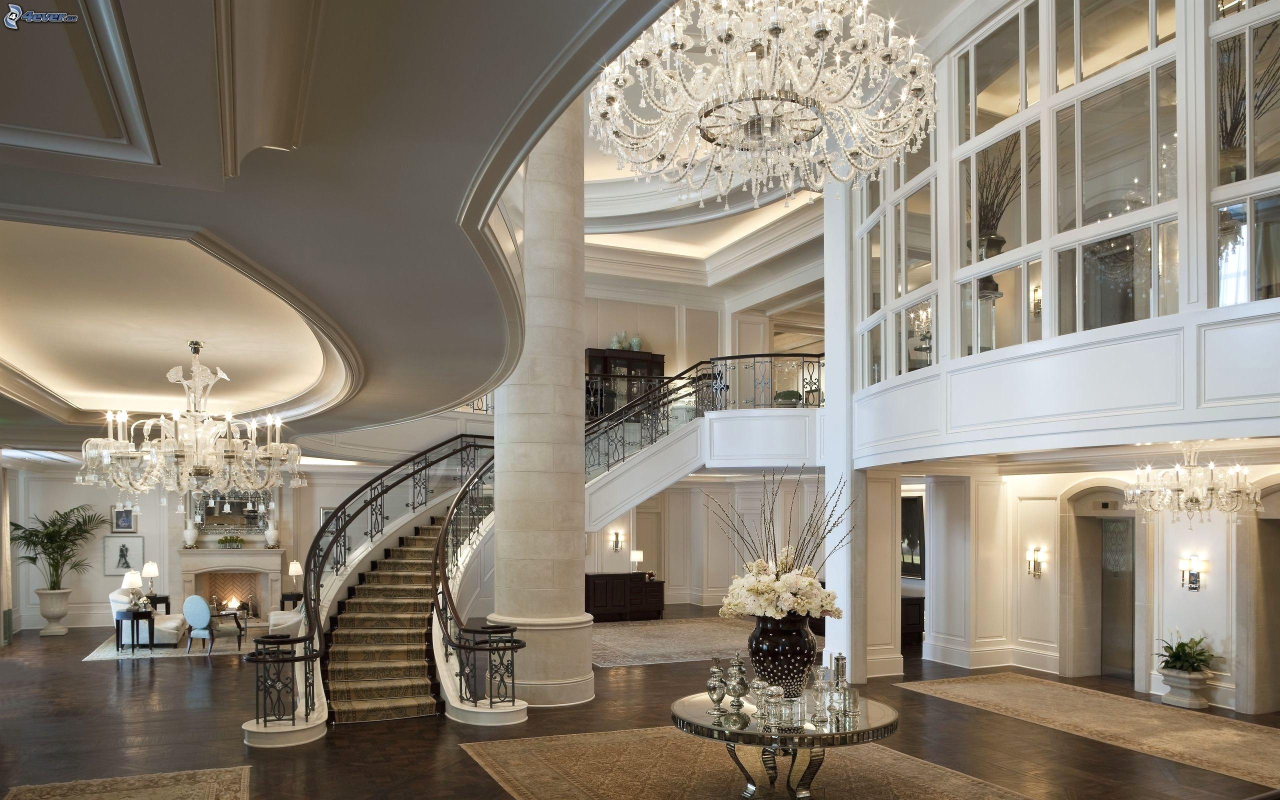 Villa Wohnzimmer Modern Perfekt On Auf Für Dekoration Zusammen Mit Braun 4