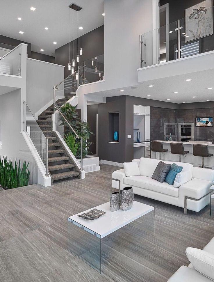 Villa Wohnzimmer Modern Zeitgenössisch On In Bezug Auf Zusammen Mit Jahrgang Zuhause Auswahl 6