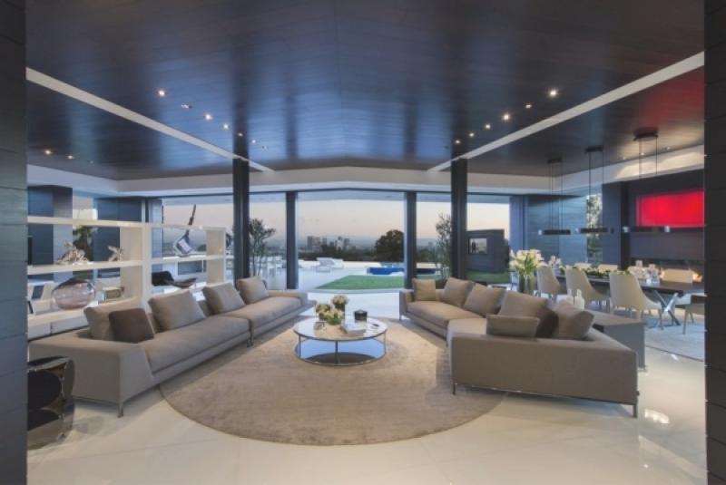 Villa Wohnzimmer Modern Zeitgenössisch On überall Bigschool Info 1