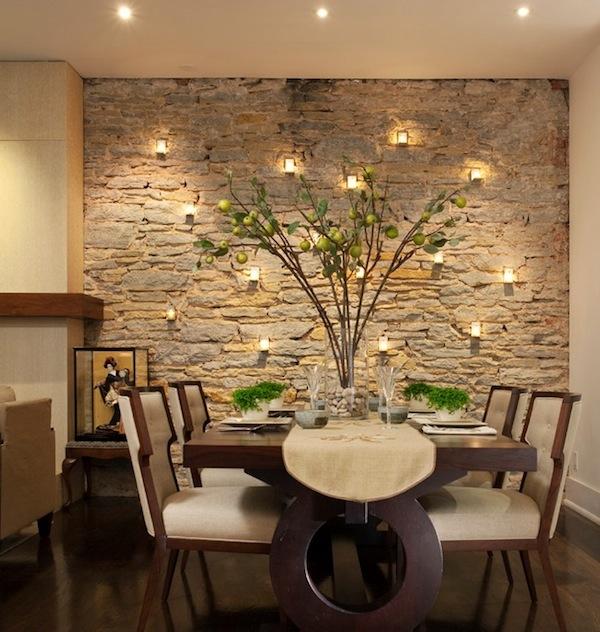 Wand Gestalten Erstaunlich On Andere Auf Wandgestaltung Mit Kerzen Für Natursteinwand FresHouse 9
