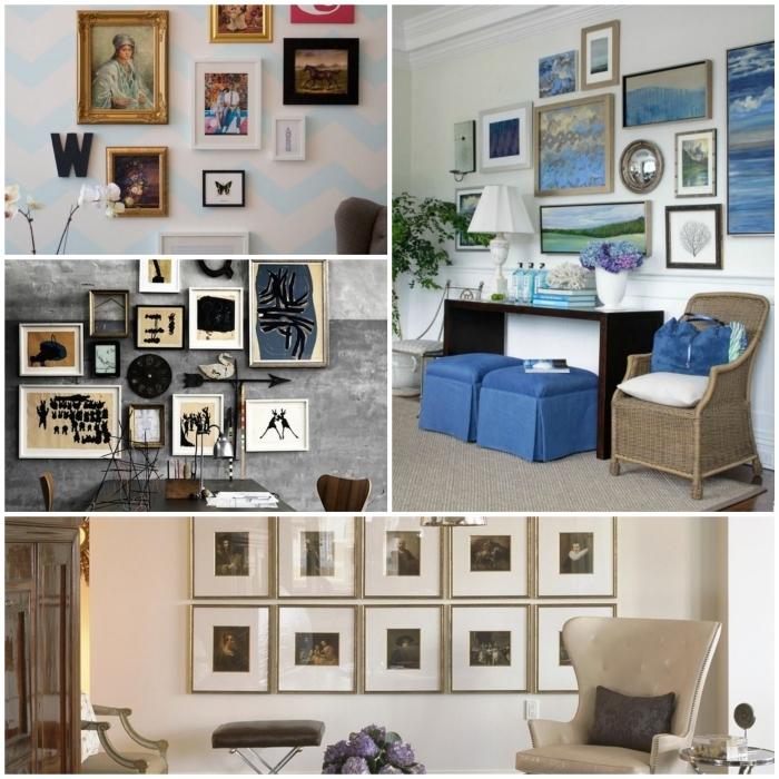 Wand Gestalten Mit Fotos Herrlich On Andere In Bezug Auf Wandgestaltung Ideen Eine Wandgalerie Ist Ein Richtiger 6