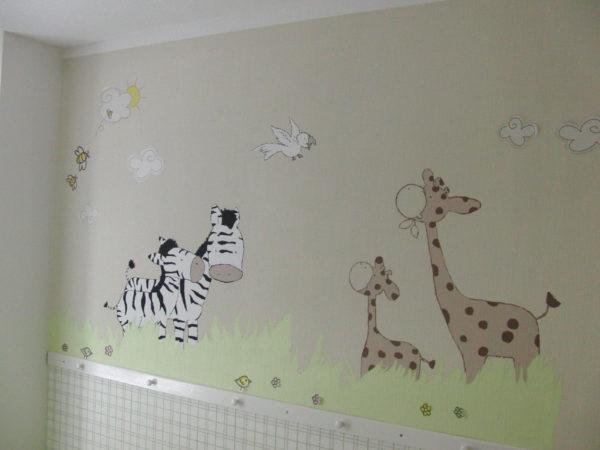 Wandbemalung Kinderzimmer Bemerkenswert On Andere In Ideen Schönes Demtigend Auf Dekoideen 8