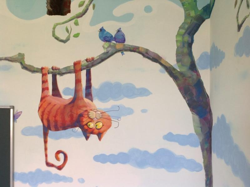 Wandbemalung Kinderzimmer Einzigartig On Andere In Im 35 Verspielte Interieurideen 7