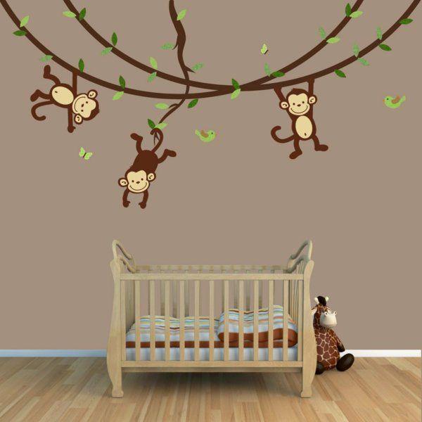 Wandbemalung Kinderzimmer Großartig On Andere Und Die Besten 25 Safari Ideen Auf Pinterest Fuchs 4
