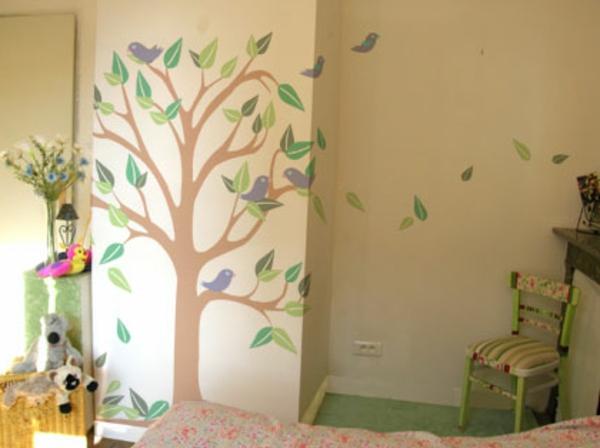 Wandbemalung Kinderzimmer Perfekt On Andere Und Streichen Lustige Farben Für Eine Freundliche 3
