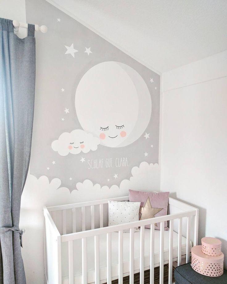 Wandbemalung Kinderzimmer Stilvoll On Andere In Bezug Auf 975 Best Nursery Images Pinterest Baby Rooms Child Room And 6