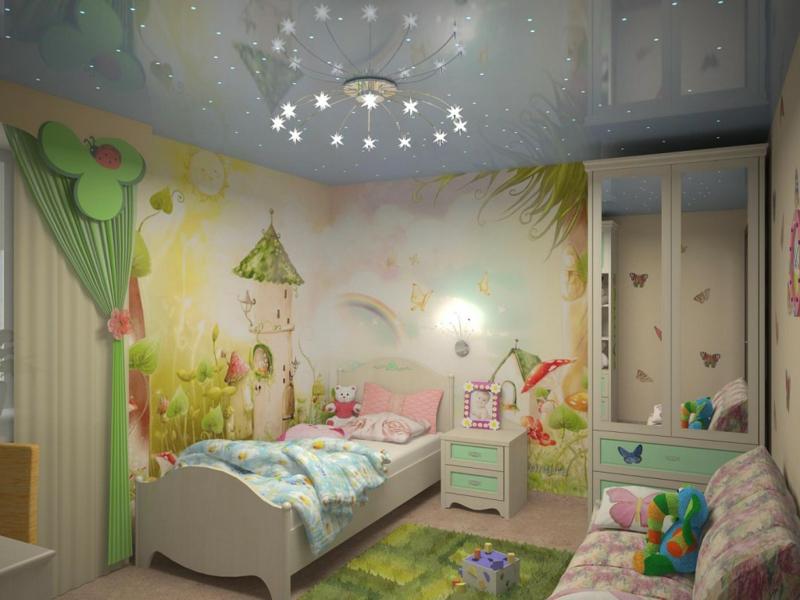 Wandbemalung Modern On Andere Und Im Kinderzimmer 35 Verspielte Interieurideen 8
