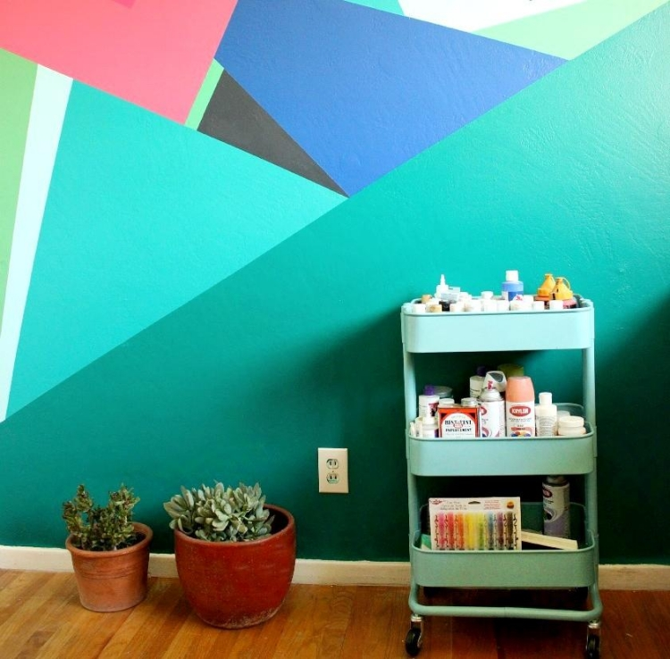 Wandbemalung Stilvoll On Andere In Ideen Und Inspirationen 44 Kreative Designs 3