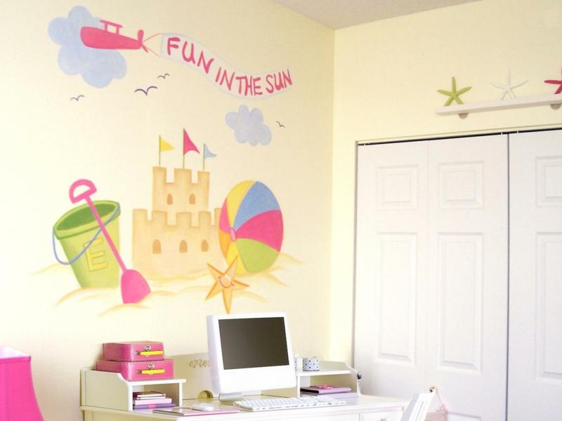 Wandbemalung Stilvoll On Andere überall Im Kinderzimmer 35 Verspielte Interieurideen 6
