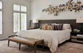 Wanddeko Schlafzimmer