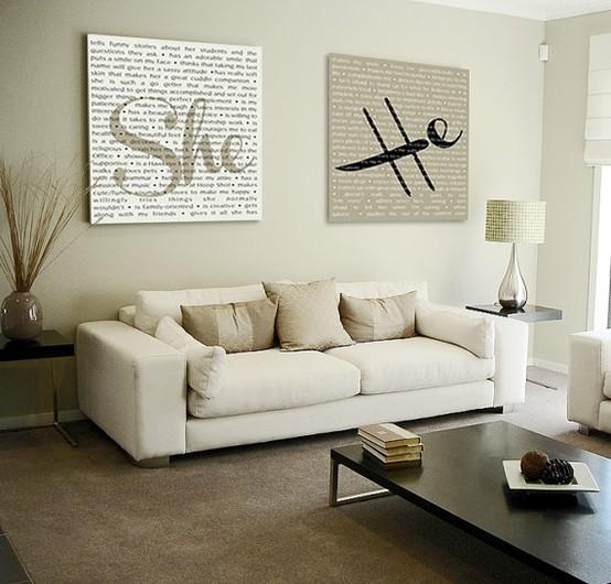 Wanddekoration Wohnzimmer Glänzend On In 3