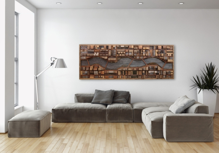 Wanddekoration Wohnzimmer Zeitgenössisch On In Bezug Auf Wanddeko Für Mit Marke Ideen 4 2