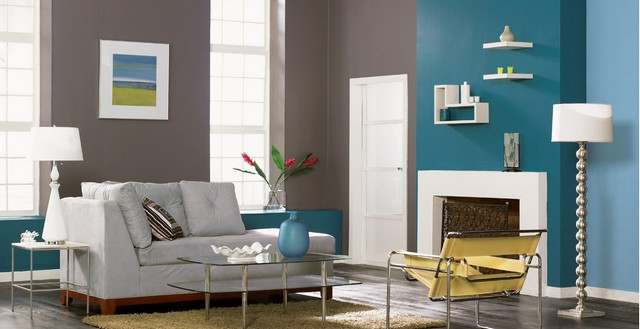 Wände Farben Ideen Nett On Beabsichtigt Mit Farbe Streichen Für Trendige Farbduos 1