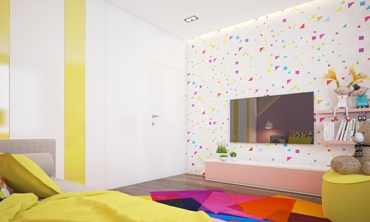 Wände Kinderzimmer Nett On Andere In Bezug Auf Farb Und Wandgestaltung Im 77 Tolle Ideen 6