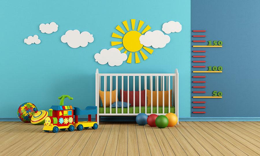 Wände Kinderzimmer Perfekt On Andere Mit Bunte Und Pflegeleichte Rundumdiewand De 8