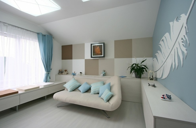 Wände Streichen Ideen Farben Schön On überall Braun Wand In Zimmer Grun 8