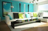 Wandfarbe Ideen Wohnzimmer