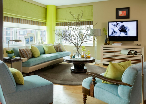 Wandfarben Ideen Wohnzimmer Imposing On Für Farben 55 Tolle Farbgestaltung 9