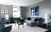 Wandfarben Modern 2015 Blau