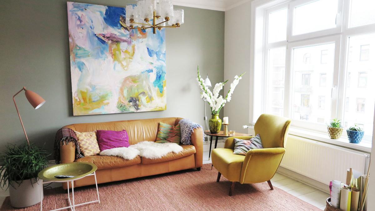 Wandfarben Wohnzimmer Bemerkenswert On überall Die Schönsten Ideen Für Wandfarbe Im 1
