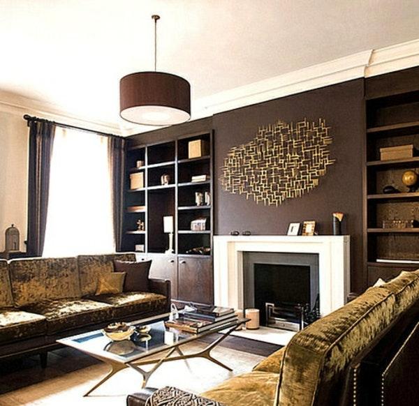 Wandfarben Wohnzimmer Gold Einfach On In Beige Wandfarbe 40 Brilliant 3