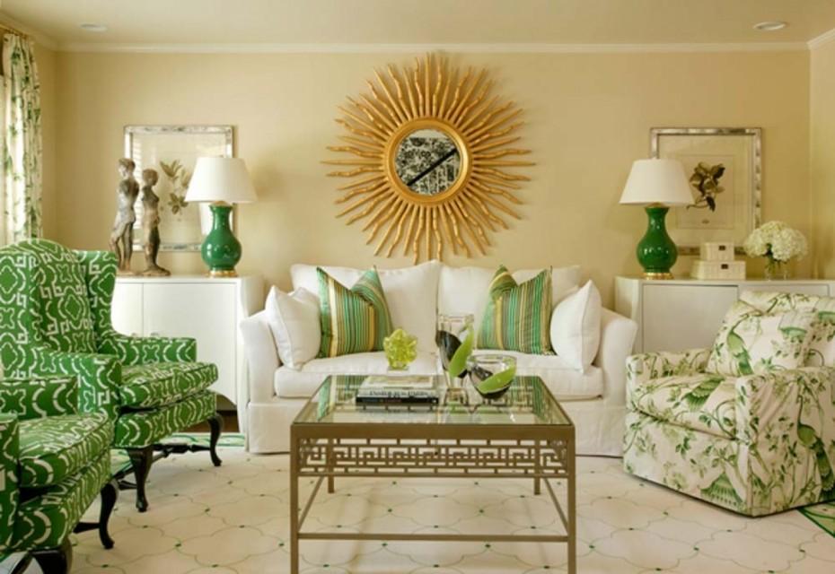 Wandfarben Wohnzimmer Gold Perfekt On In Foyer Plus Bemerkenswert 7