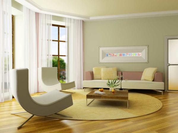 Wandfarben Wohnzimmer Nett On überall 1001 Ideen Für Eine Dramatische Gestaltung 5