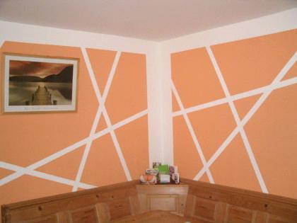 Wandgestalten Mit Farbe Einfach On Andere Und Beispiele Fur Wandgestaltung Ideen Fa 1 4 R