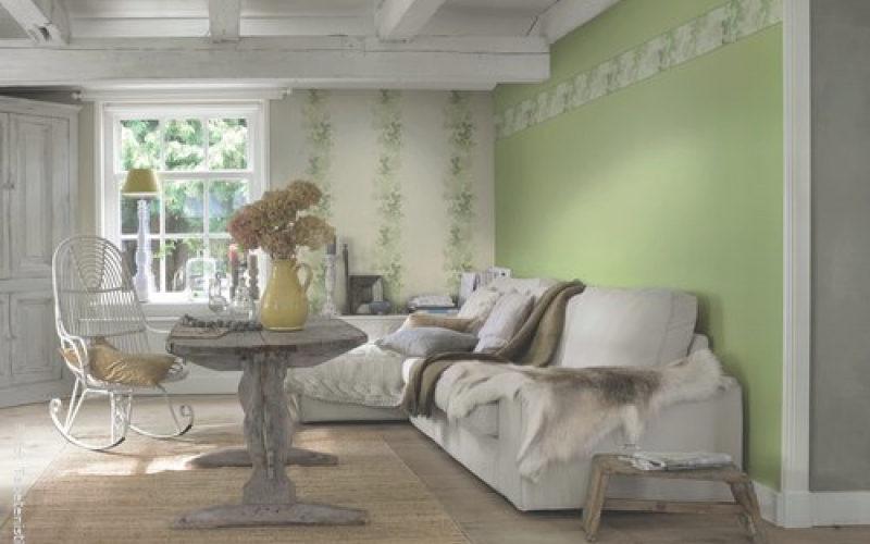 Wandgestaltung Landhausstil Wohnzimmer Nett On Auf Robelaundry Com 1