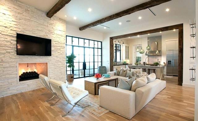Wandgestaltung Wohnzimmer Weiße Möbel Nett On Auf Inneneinrichtung Steinoptik 8