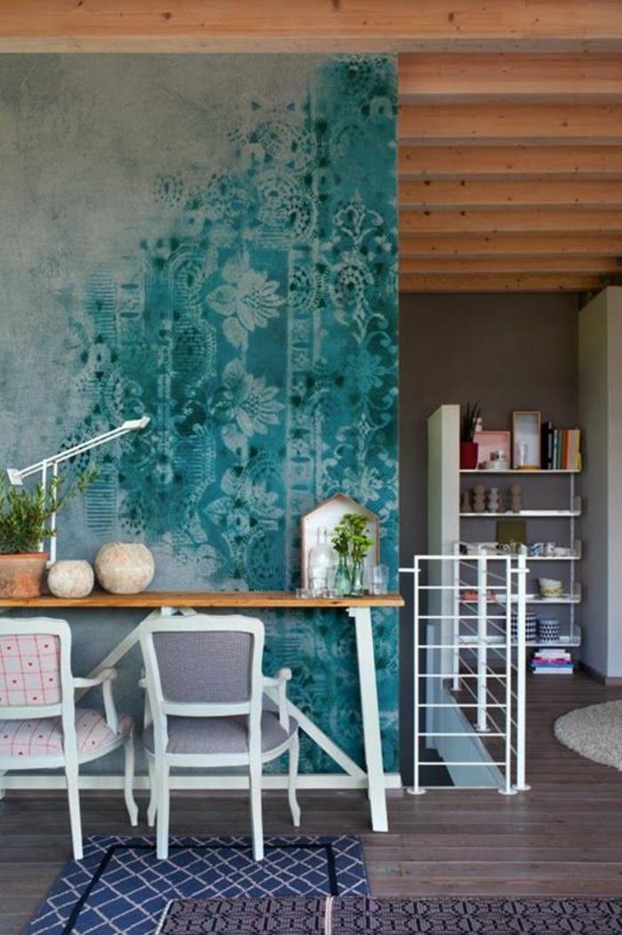 Wandgestaltung Wunderbar On Andere In Wandideen 29 Beispiele Für Eine Moderne 7
