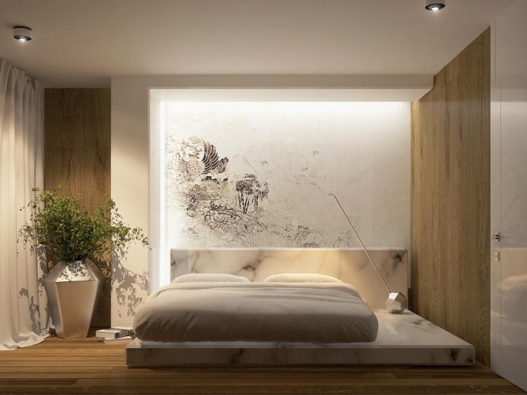 Wandideen Kreativ On Ideen In Bezug Auf 37 Wand Zum Faszinierend Wohndesign 1