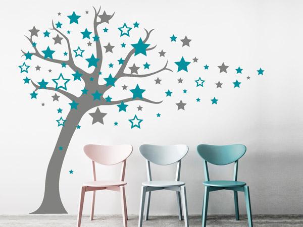 Wandtattoos Türkis Großartig On Andere überall Kreatives Mädchenzimmer Farben Deko Wandgestaltung 4